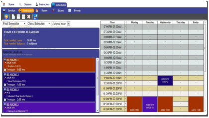 Automated Class Scheduling System