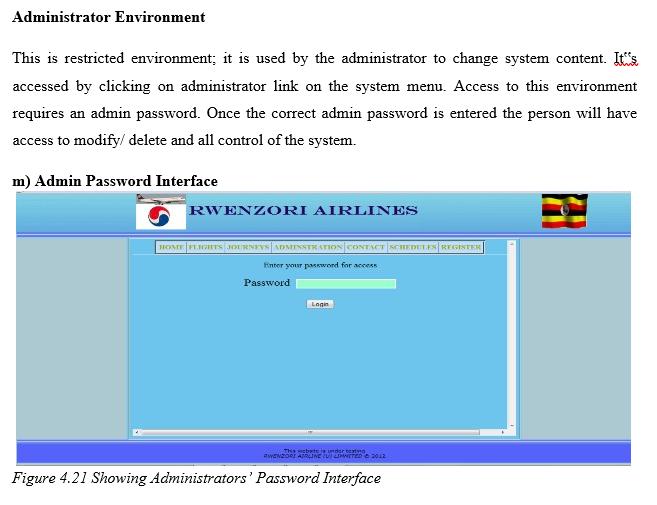 Admin Environment