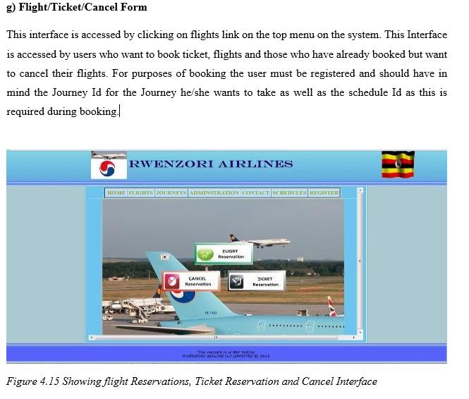 FlightTicketCancel Interface