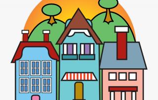 selling your neighborhood barangay hall clip art